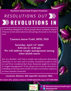 Resolutions : Revolutions