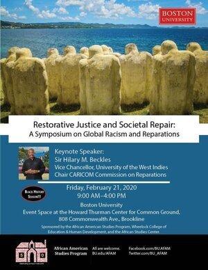 restorative Justice and societal repair