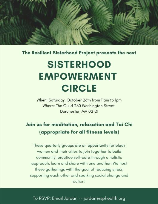 Sisterhood Empowerment Circles